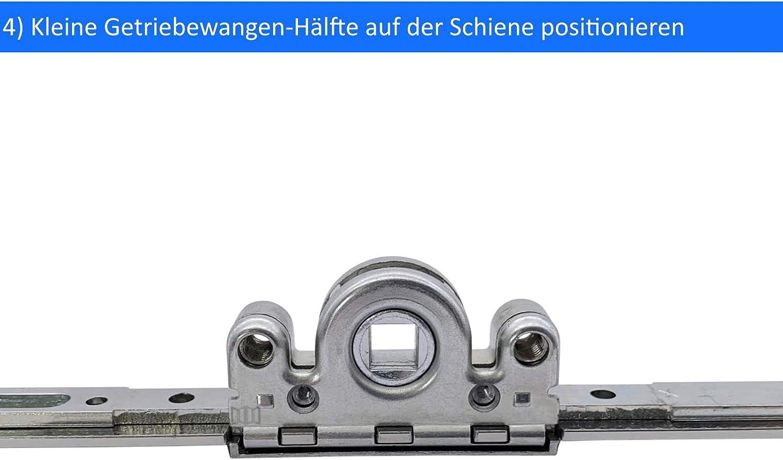 Winkhaus Getriebe Getriebeschloss Schneckengeh/äuse schraubbar