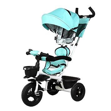 Jian E E-Carro Bicicleta de bebé de Triciclo para niños 1-3-