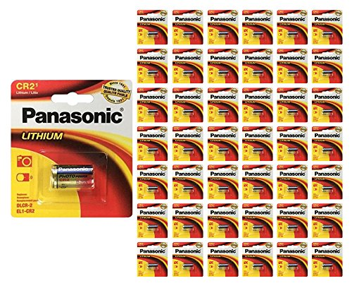 96x Panasonic CR-2 Lithium Battery CR2 CR-2PA 3V Fresh Photo Batteries by 21Supply