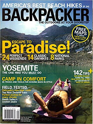 Backpacker, the Outdoors at Your Doorstep September 2004 Magazine: Amazon.com: Books