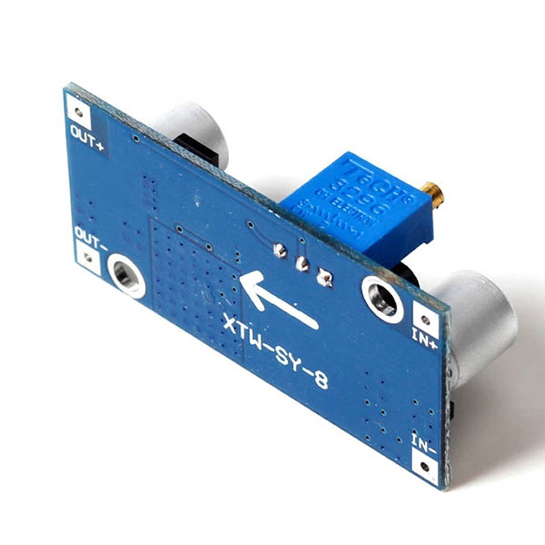Daorier Xl6009 Step Up Boost Power Modul Dc 400khz 4a 3v 32v Zu To 5v 35v Fr Arduino Raspberry Diy Projects Basteln Elektronik