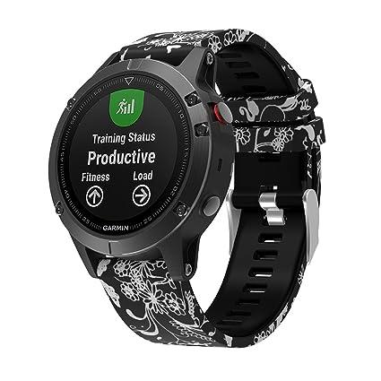 Garmin Fenix Forerunner 935 Banda de reloj, pulsera de reemplazo de correa de