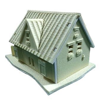 LYNCH 1 Satz 3D Silikon Haus Gebäude Kuchen Dekorieren Fondantform  Backen Werkzeuge,Rosa