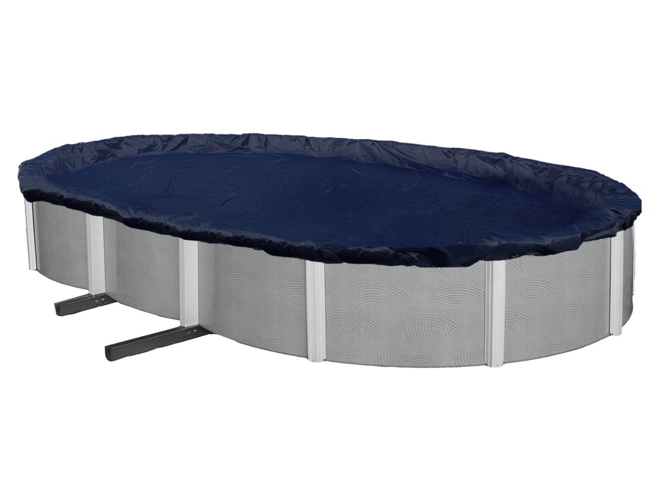 Blue Wave Bronze 8-Year 21-ft x 41-ft Oval Above Ground Pool Winter Cover