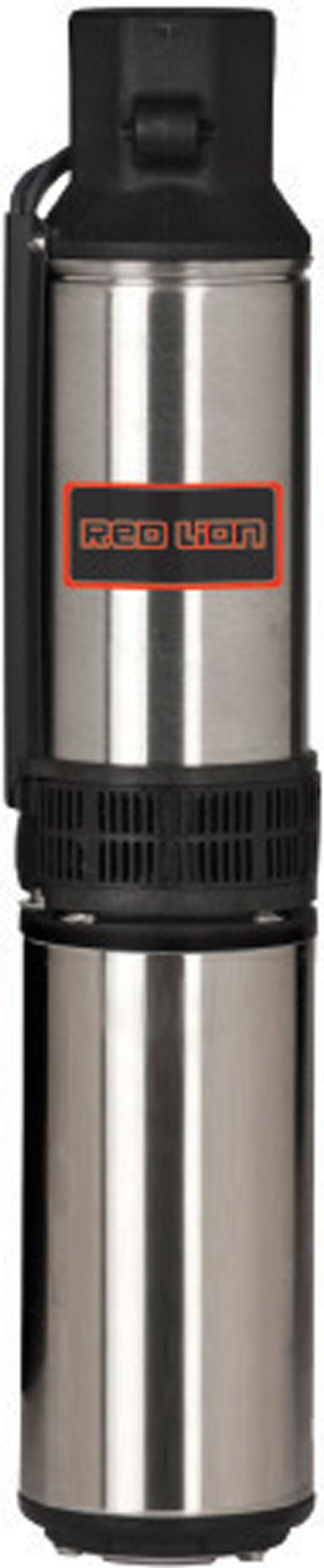 Red Lion 14942405 Submersible Deep Well Pump with Control Box, 1/2-HP 12-GPM 3-Wire 230-Volt, Stainless Steel
