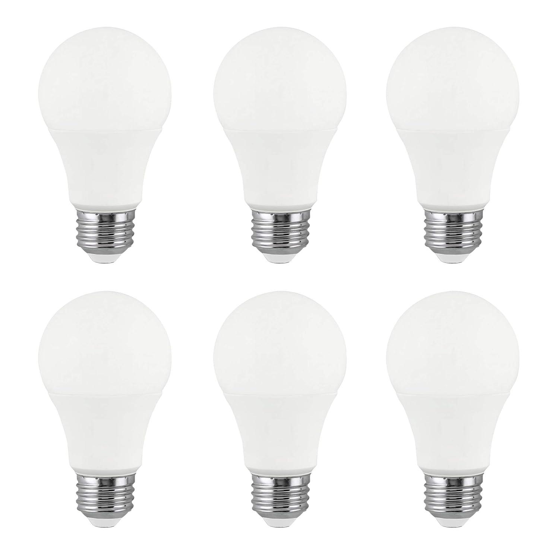 LED A19 17W Light Bulb, 100W Equivalent, Dimmable, 1600 Lumens, 3000K Soft White, E26 Medium Base, Energy Star, 120V (6 Pack)