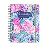 Lilly Pulitzer Jumbo 17 Month Hardcover Agenda, Personal Planner, 2018-2019 (Beach Please)