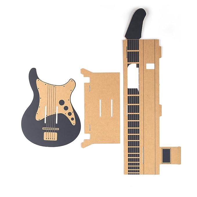 Goolsky Labo DIY Caja de Cartón Soporte de la guitarra para Nintendo Switch
