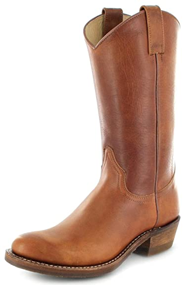 A.S.98 Tolle Stiefel, AIRSTEP TOP braun, anthrazit 41, Gr