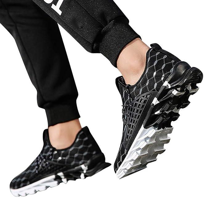 bfd91affecbbe Beikoard-scarpa Uomo Scarpa da Uomo per Il Tempo Libero Sport Outdoor  Network Running Shoe Campus Studenti Scarpa da Corsa(