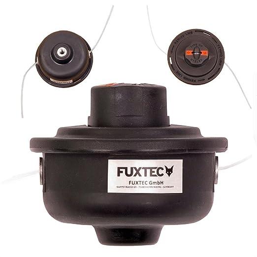 Fuxtec Nylon cabezal doble de hilos negro para FX de rt126 & rt226 ...