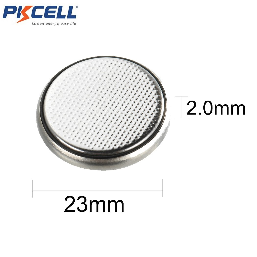 20 X CR2320 BR2320 2320 3V 130mAh Lithium Coin Cell Watch Battery by PK Cell (Image #2)