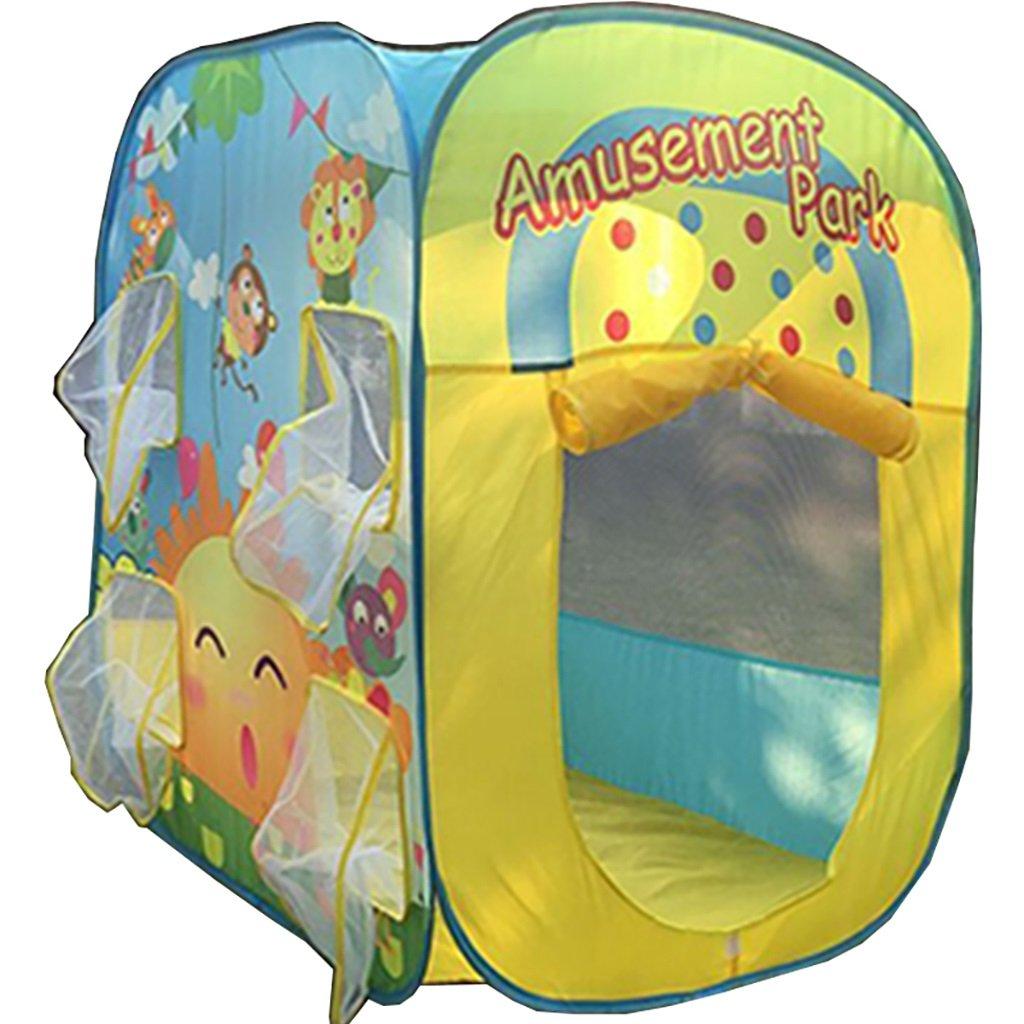 NAUY- Spielzeug & Spiele Kinder Spielzelt Spiel Playhouse Faltbares Kinderspielzeug Spielhaus Indoor und Outdoor Kinderspielzelt ( größe : 82*82*98cm )
