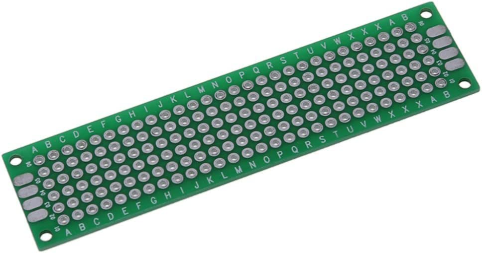8cm Moligh doll 5pcs Double-Side Prototype FR-4 PCB Printed Circuit Board stripboard Universal 2