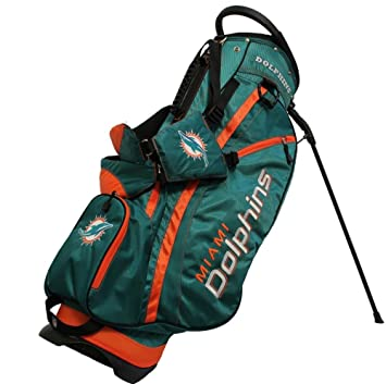 Miami Dolphins Bolsa de golf: 14 manera Fairway Soporte ...