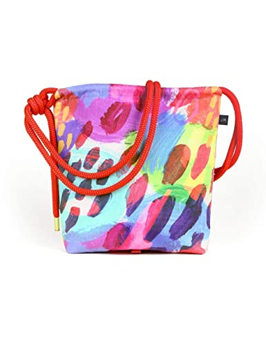 Amazon com: Messenger Bag Backpack Canvas Tote in Rainbow