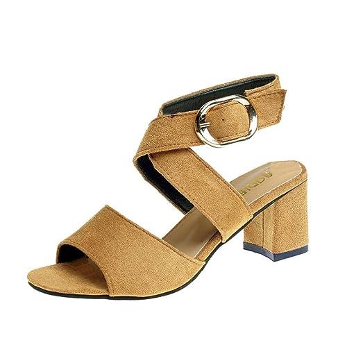 HUIHUI Sandalen Damen Elegant Bogen Flip-Flops Sandalen Slipper Strandschuhe Roma Fisch Mund Hohl Schuhe Komfort...