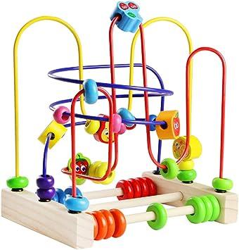 Abacus de Madera Juega Laberinto del Grano con 6 Insectos 3 Monta/ña Rusa Juguetes Educativos Regalo de los Ni/ños para Ni/ños Ni/ñas 3 A/ños