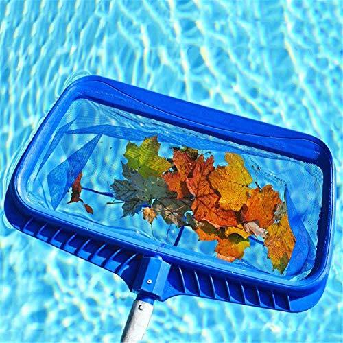 Dreamseeker Rechteck Poolreinigung Kescher Pool Skimmer Schwimmbad Bodenkescher, Poolzubehör Für Pool Reinigung (Kunststoff-rechteck)