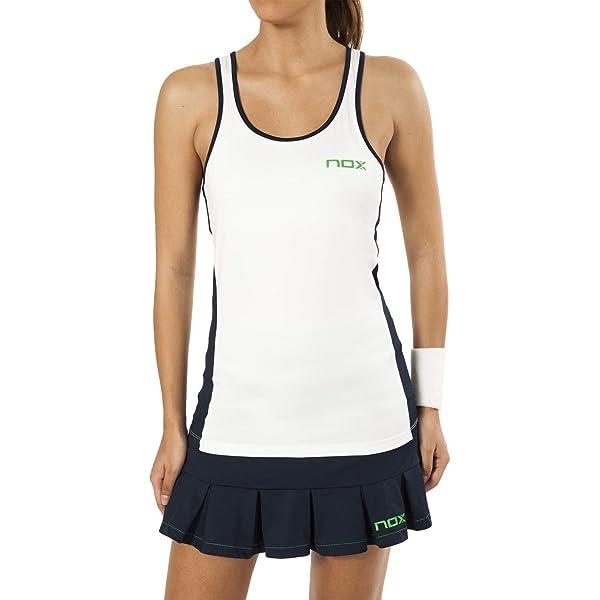 NOX Camiseta Tirantes Pro Blanco (XS): Amazon.es: Deportes y aire ...