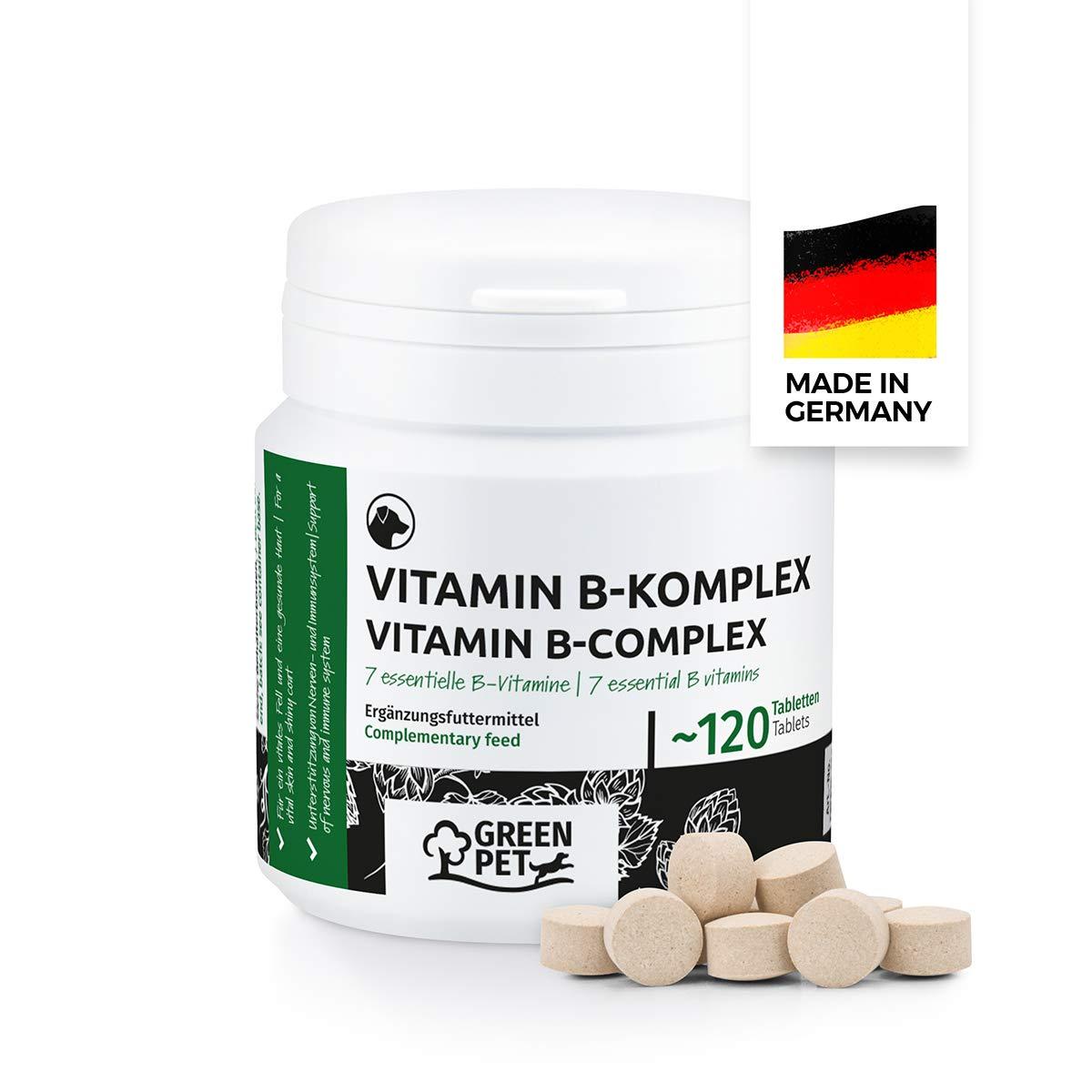GreenPet Vitamin B Complex, Vitamin B+ Supplement for Dogs