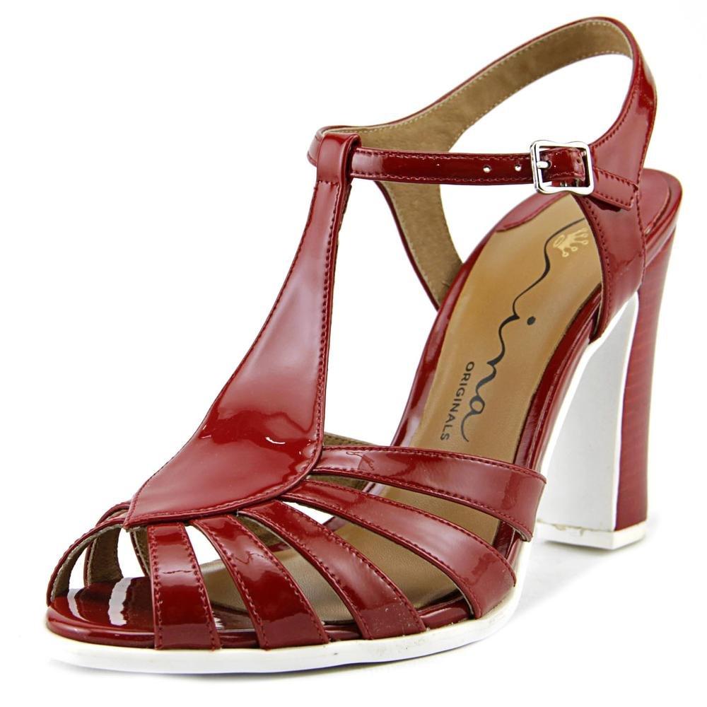 Nina Original Women's Sibeal Dress Sandal Red Size 6.0