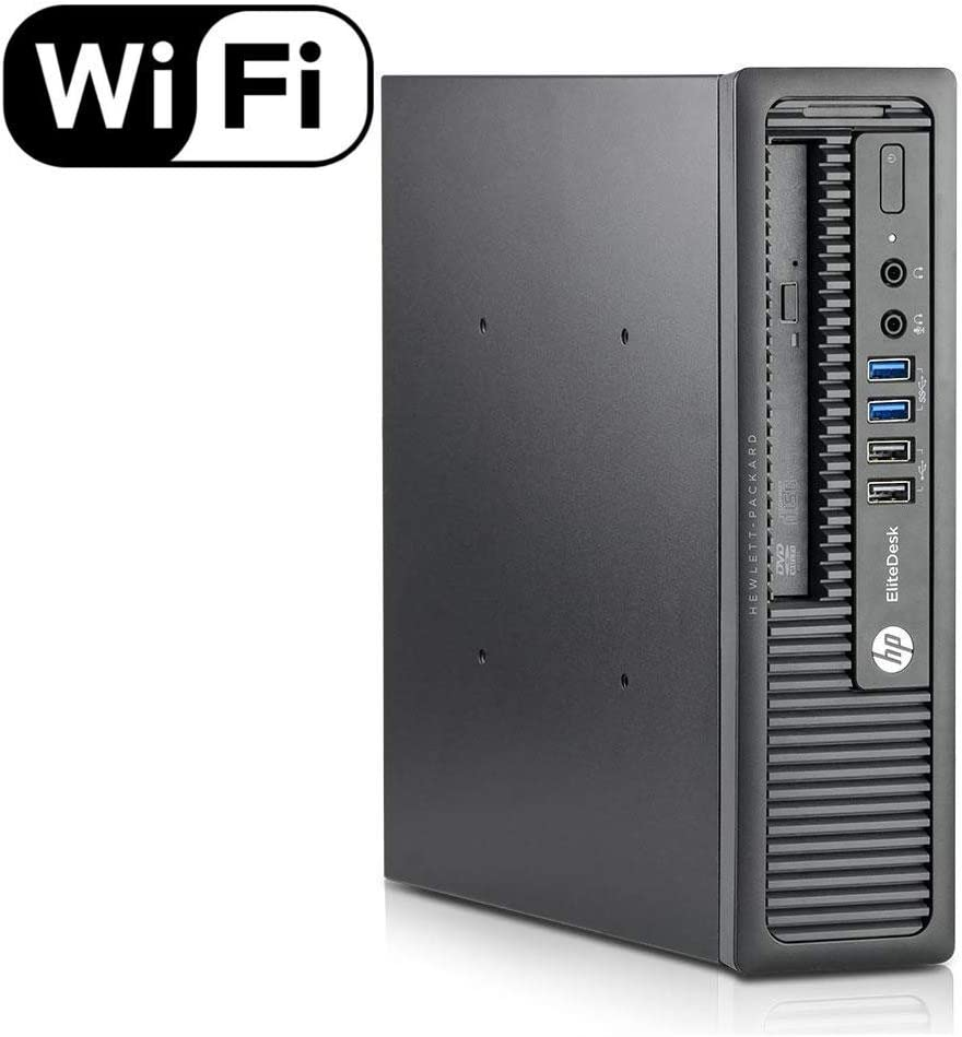 HP 800G1 USFF, Intel i7-4770s-3.4GHz, 16GB Memory, 240GB SSD Drive, WiFi,HDMI, Win 10 Pro(Renewed)