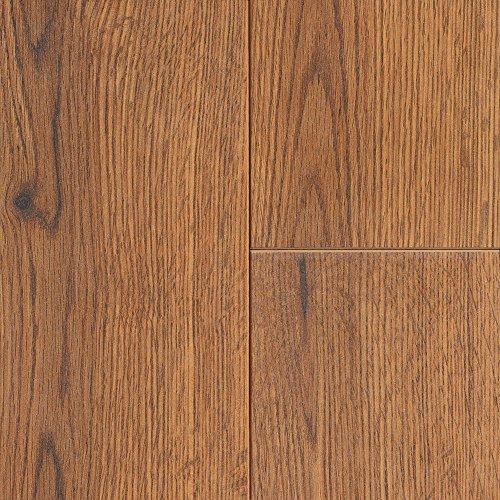 Mannington 26302 (S) Revolutions Collection Ontario Oak Laminate Flooring, 8mm, Gunstock - Collection Gunstock
