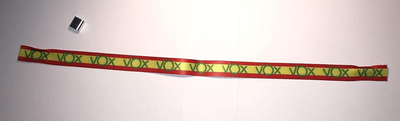 PULSERA VOX BANDERA ESPAÑA - MÁXIMA CALIDAD: Amazon.es: Handmade