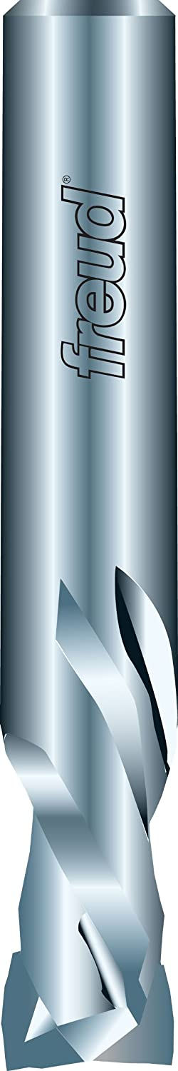 Dia. Freud 1//2 Solid Carbide Mortise Compression Spiral Bit with 1//2 Shank 77-610