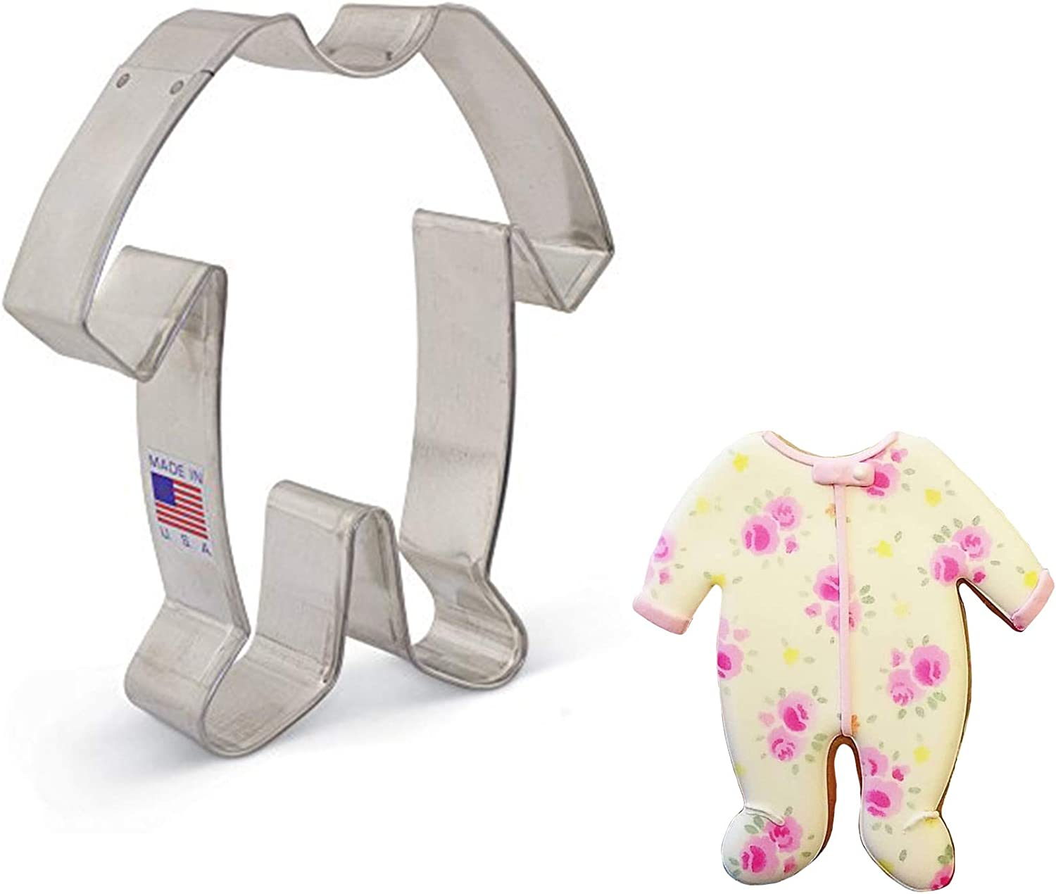 Baby Shower Fondant 3 Sizes Baby PJ/'s Cookie Cutter