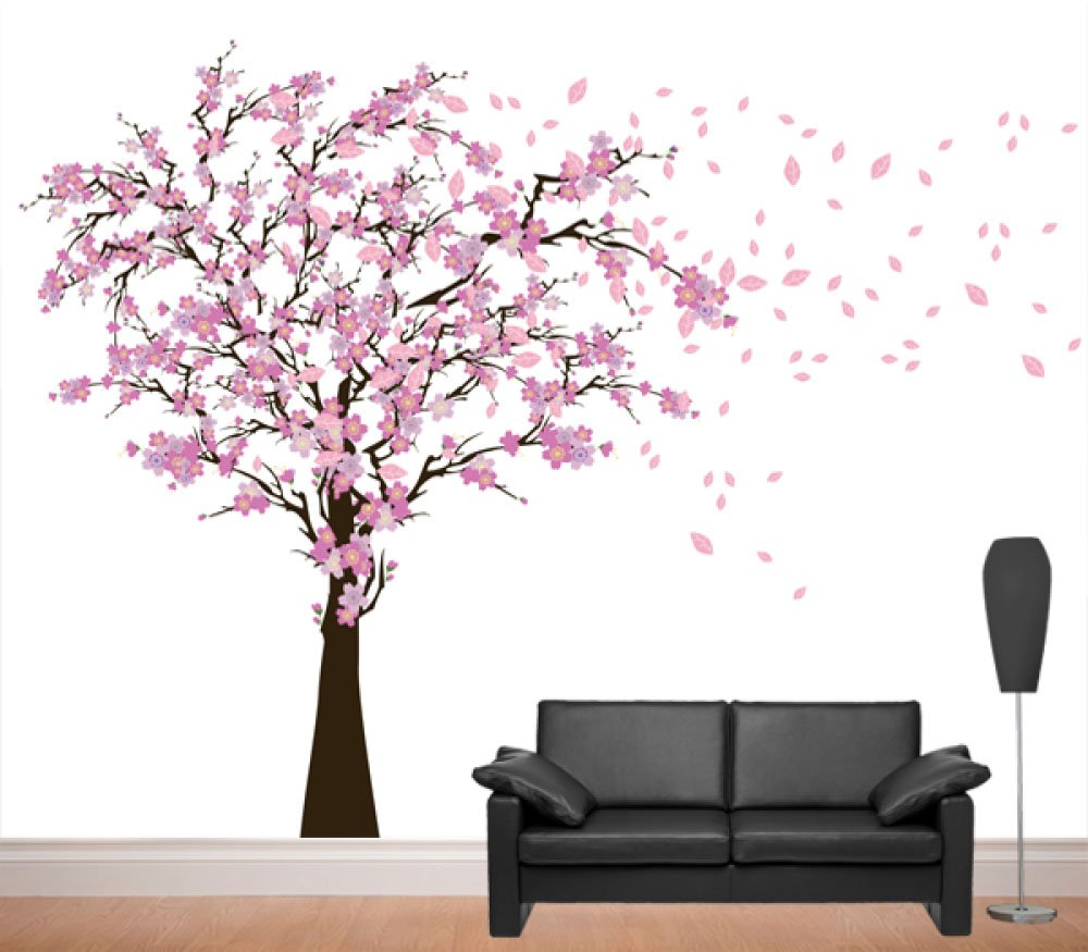 Perfect Amazon.com: Cherry Blossom Nursery Tree Wall Decal Art Decor  Wall Art   Family Decal  Custom Wall Decal Wall Art  Wall Decals Wall Decor  Home U0026  Kitchen ...