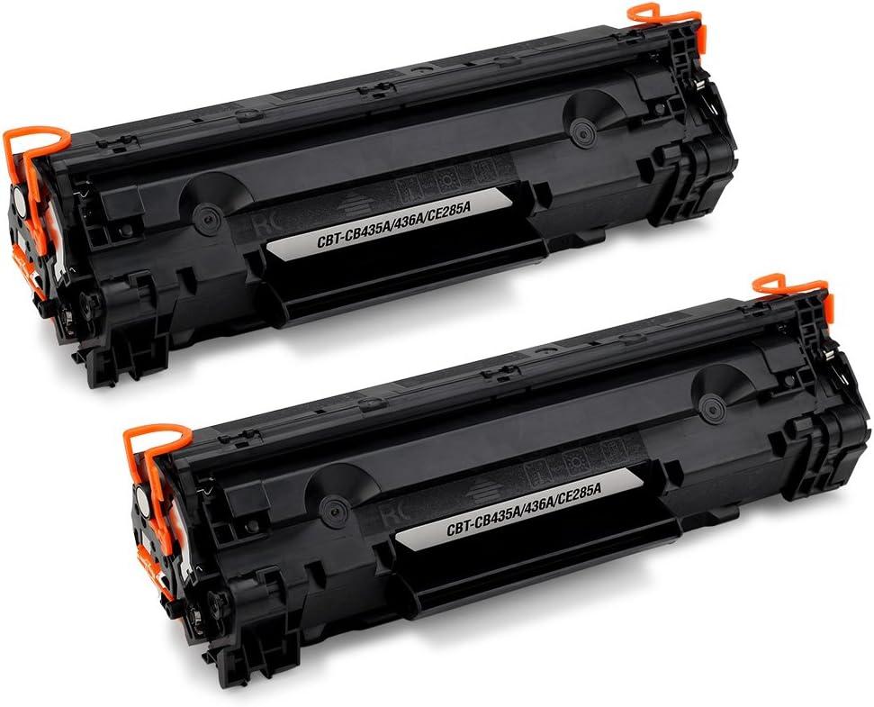 JARBO 85A CE285A Cartuchos de tóner Negro Compatible para HP ...