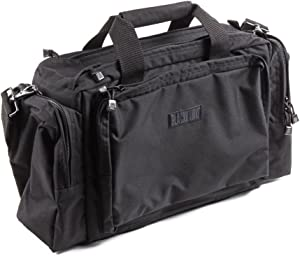 BLACKHAWK 80SB06BK Enhanced Pro Shooters Bag, Black