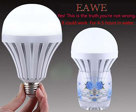 Amazon.com: eawe Color Blanco LED Magic foco E27, cuerpo ...