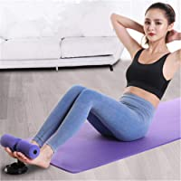 Portable Sit Up Bar Adjustable Self-Suction Sit-up Aid Home Fitness Gym Exercise Great for Arms Shoulders Back Legs Abdomen Waist