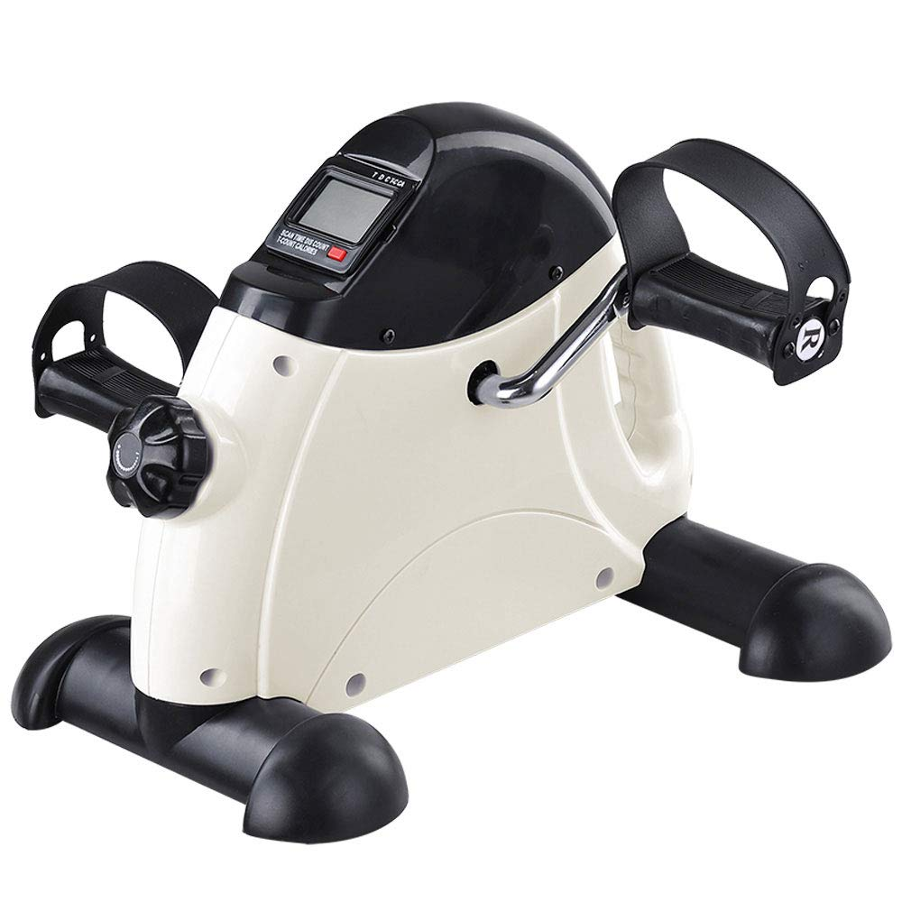 AW Portable Mini Pedal Exerciser Fitness Exercise Bike Cycle Arm Leg LCD Display Home Office Under Desk by AW (Image #2)