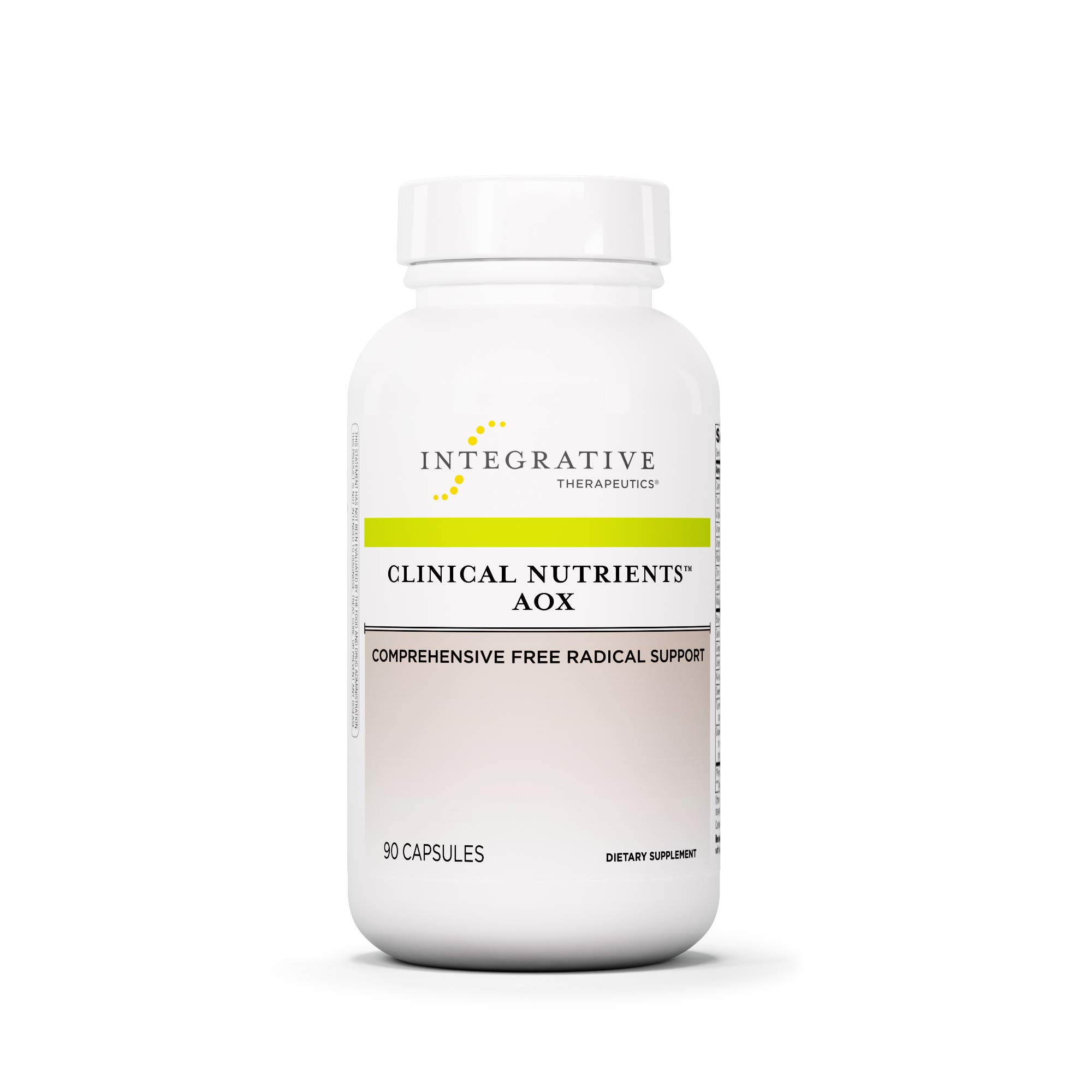 Integrative Therapeutics - Clinical Nutrients AOX - Comprehensive Free Radical Support - 90 Capsules