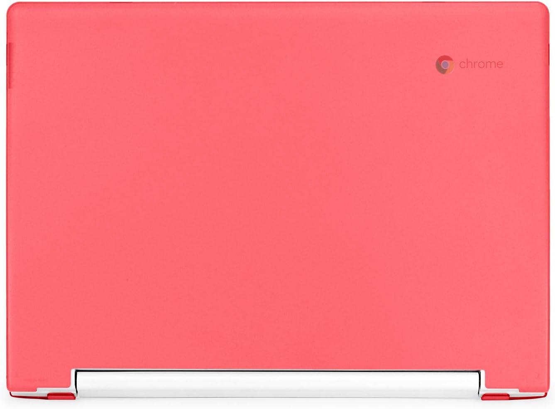 """mCover Hard Shell Case for Late-2018 11.6"""" Lenovo C330 Series Chromebook Laptop (NOT Fitting Lenovo N21 N22 N23 N24 100E 300E 500E Flex 11 Yoga 11e Chromebook) (LEN-C330 RED)"""