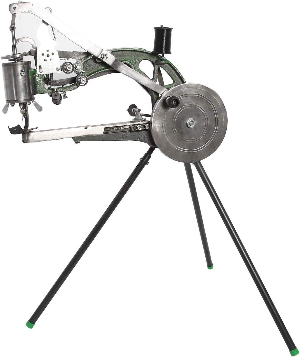 FamYun Hand Cobbler Shoe Repair Machine Dual Cotton Nylon Line Sewing Machine Manual Shoe Mending Machine Shoe Sewing Machine
