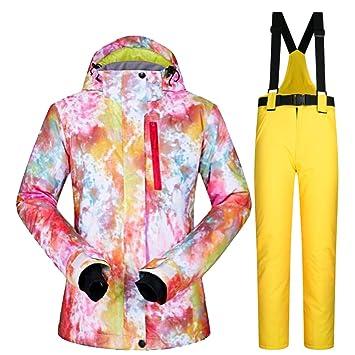 Amazon.com: Chaqueta de esquí para mujer, con capucha ...