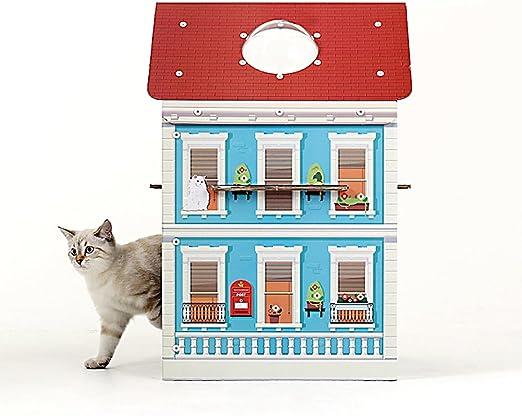 Acerca de Mall – Caja de gatos para gatos de casa con diseño de torre de árbol de condo (cobre).: Amazon.es: Productos para mascotas