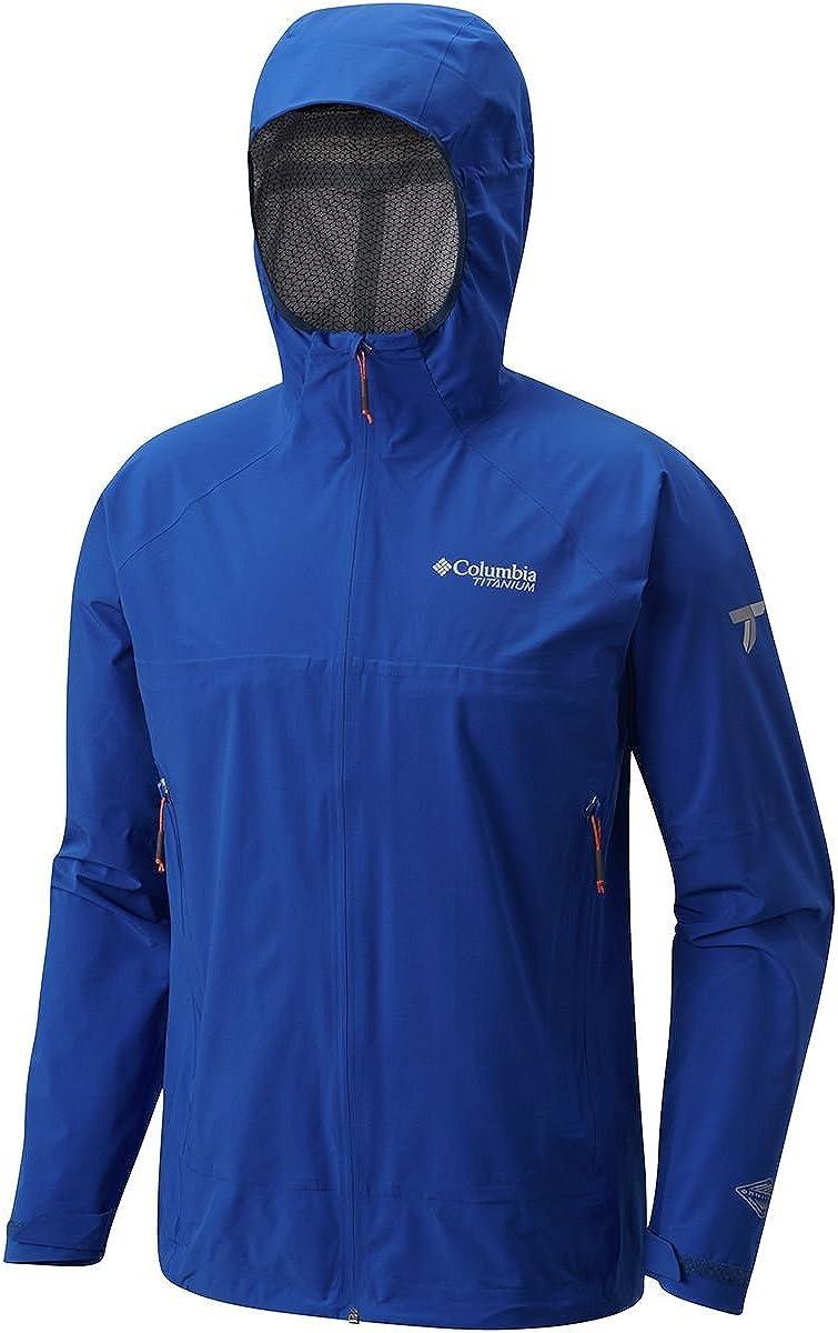 Azul Columbia Mens Trail Magic Shell Jacket Large