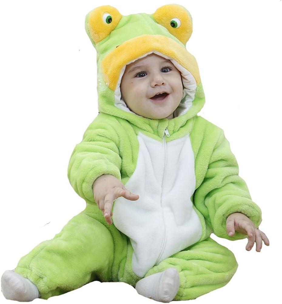 Toddlers Boys Girls Baby Frog Fancy Dress Costume Unisex Romper Animal Cosplay