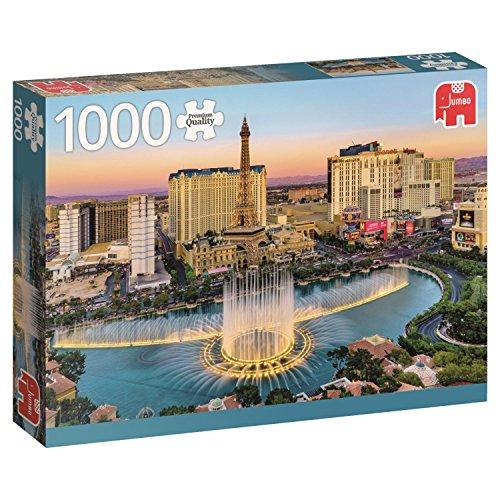 Jumbo Las Vegas USA Jigsaw Puzzle (1000 Piece)