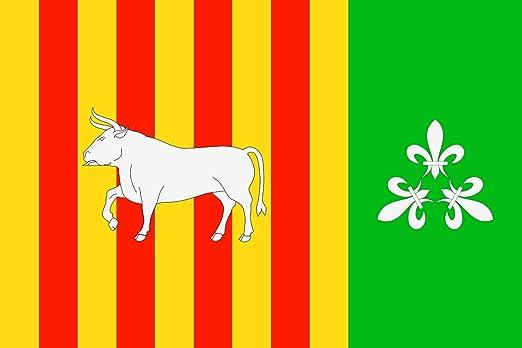magFlags Bandera Large Borjas Blancas, Lérida, España | Bandera ...