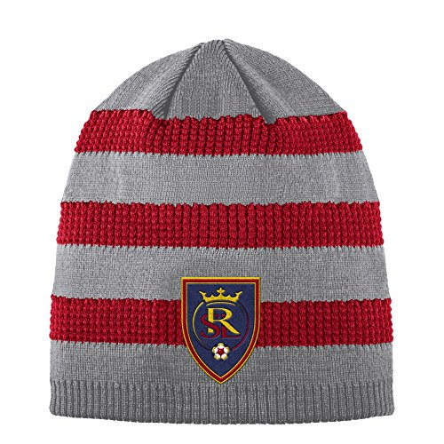 adidas Real Salt Lake Beanie Authentic Textured Knit Cap by adidas