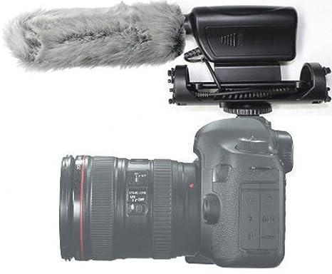 MegaGear cámara videocámara con Fuzzy Windjammer, micrófono de ...