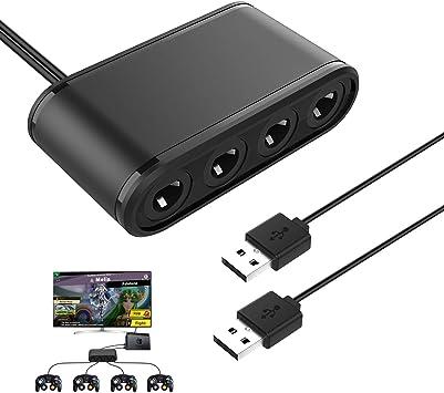 MoKo Gamecube Controller Adaptador para Switch Nintendo, Control ...