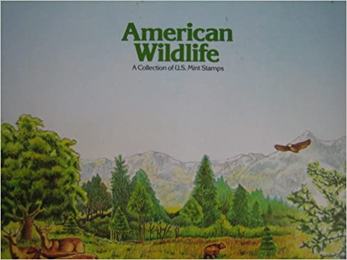 American Wildlife A Collection Of U S Mint Stamps N Amazon Books